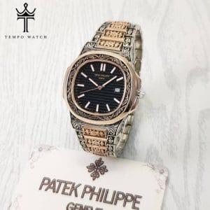 ساعت مچی پتک فیلیپ مدل بند حکاکی   PATEK PHILIPPE